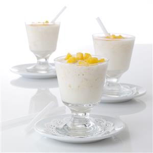 Ginger-Peach Milk Shakes Recipe