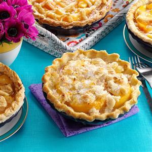 Ginger Peach Pies Recipe