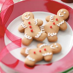 Gingerbread Boy Cookies Recipe