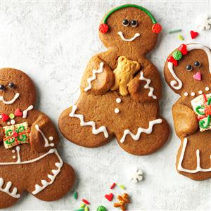 Gingerbread Buddies Recipe