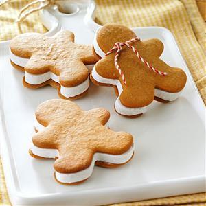 Gingerbread Ice Cream Sandwiches Recipe