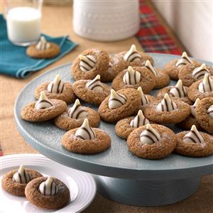 Gingerbread Kisses Recipe