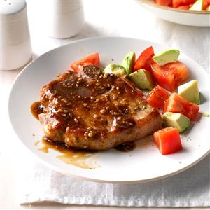 Glazed Pork Chops Recipe
