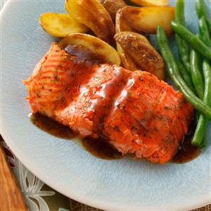 Glazed Salmon Fillet Recipe