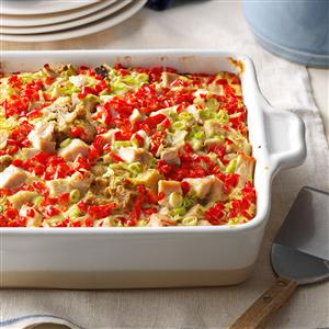Gobble-Up Strata Recipe
