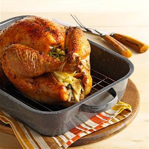 Golden Roasted Turkey Recipe