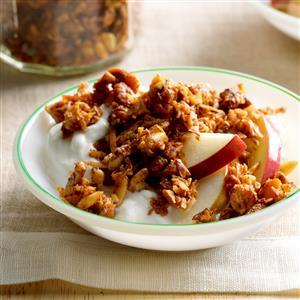 Grain-Free Apple Pie Granola Recipe