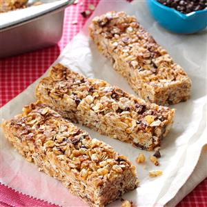 Granola cereal bars recipe taste of home granola cereal bars recipe ccuart Image collections
