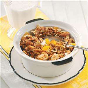 Granola with Apricots and Ginger Recipe