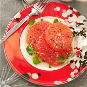 Grapefruit in Honey-Thyme Sauce Recipe