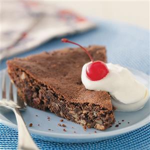 Great American Brownie Pie Recipe