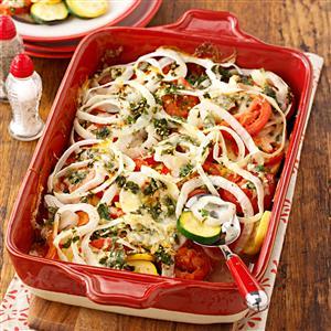 Greek Herb Ratatouille Recipe