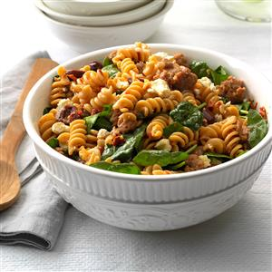 Greek Pasta Toss Recipe