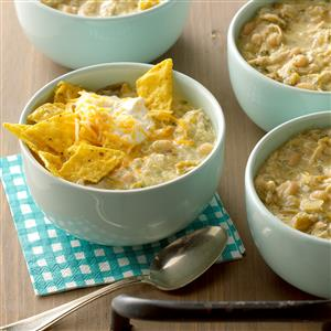 Green Chile Chicken Chili Recipe
