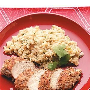 Green Rice Pilaf Recipe