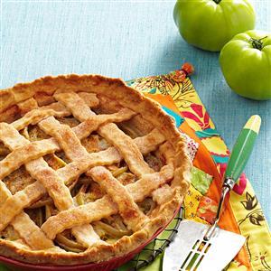 Green Tomato Lattice Pie Recipe