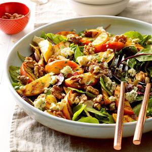 Grilled Apple Tossed Salad Recipe