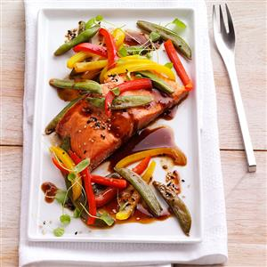 Grilled Asian Salmon Packets Recipe