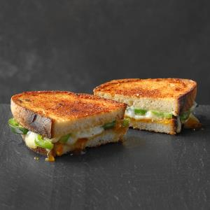 Grilled Cheese, Apricot and Jalapeno Sandwich Recipe