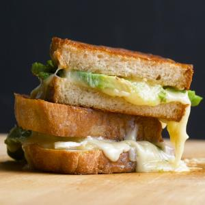 Grilled Cheese and Avocado Sandwich Recipe