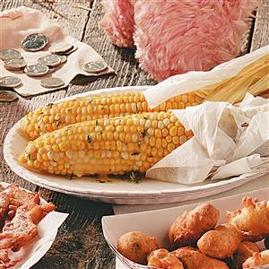 Grilled Corn with Thyme Recipe