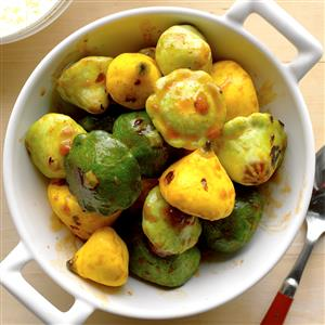 Grilled Pattypans Recipe