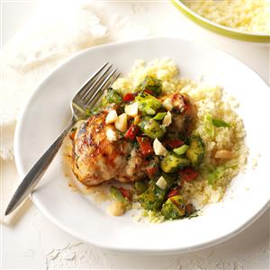 Grilled Pineapple Chimichurri Chicken  Recipe