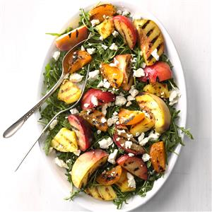 Grilled Stone Fruit Salad Recipe