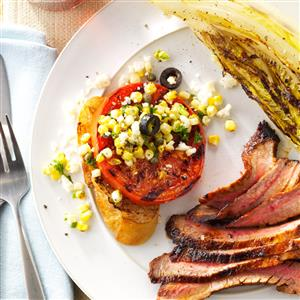 Grilled Tomato with Fresh Corn Recipe