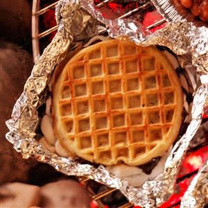 Grilled Waffle Treats Recipe