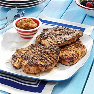 Grilled Whiskey Chops Recipe