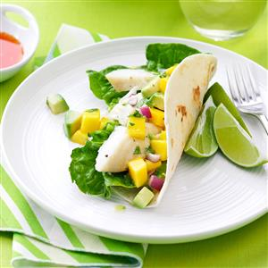Halibut Soft Tacos Recipe
