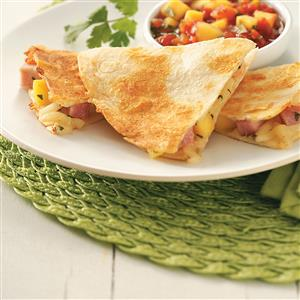 Ham & Mango Quesadillas for Two Recipe