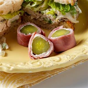 Ham & Pickle Wraps Recipe