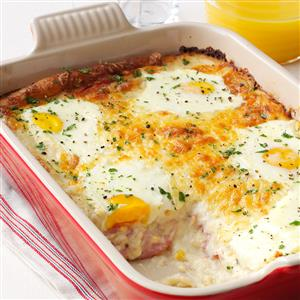 Ham, Egg & Cheese Casserole Recipe