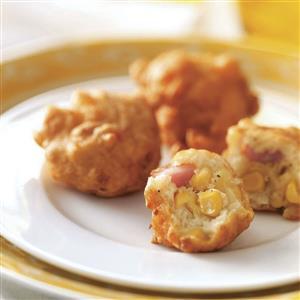 Ham 'N' Corn Fritters Recipe