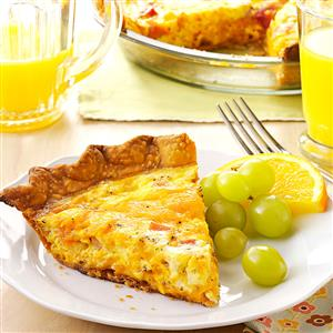 Ham n cheese quiche recipe taste of home ham n cheese quiche recipe forumfinder Gallery