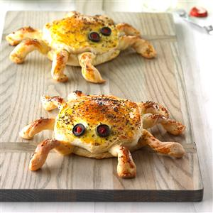 Ham 'n' Cheese Spiders Recipe