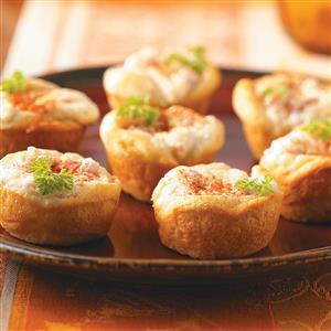 Ham and Cheese Tarts Recipe