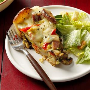 Ham and Potato Frittata Recipe