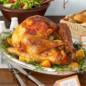 Happy Orange Turkey Recipe