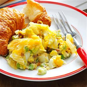 Hard-Boiled Egg Casserole Recipe