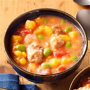 Harvest Butternut & Pork Stew Recipe
