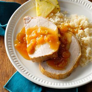 Hawaiian Pork Roast with Pineapple Recipe