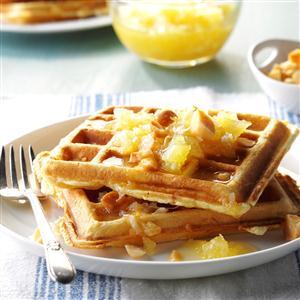 Hawaiian Waffles Recipe