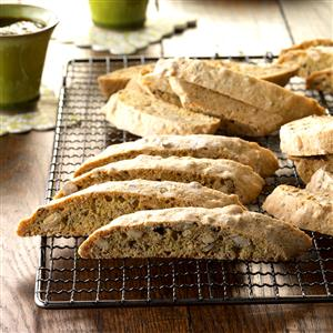 Hazelnut Almond Biscotti Recipe