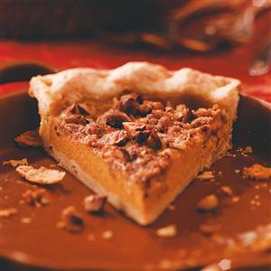 Hazelnut Pumpkin Pie Recipe