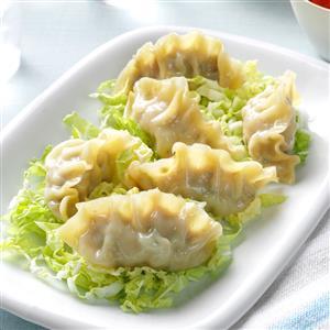 Healthy Steamed Dumplings Recipe