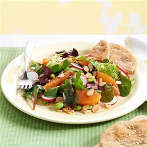 Hearty Asian Lettuce Salad Recipe