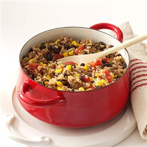 Hearty Beans and Rice Recipe